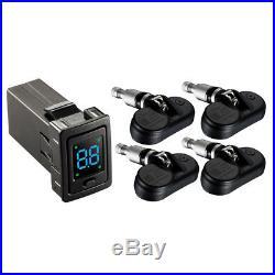 TPMS Car Tire Pressure Monitor TP-73 PSI LED Display Internal Sensor Wireless