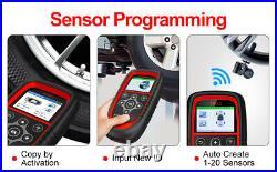 TPMS Diagnostic Reset Tool Car Tire Pressure Sensor Programming Activation Too