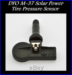 Tpms Solar Power Tire Pressure Monitor + 4 Sensors Fit For Oem Charger Challenge