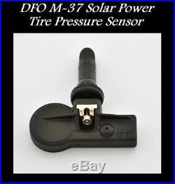 Tpms Solar Power Tire Pressure Monitor + 4 Sensors Fits Oem Chevrolet Silverado