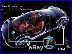 TPMS TYRE PRESSURE MONITORING SYSTEM CAR 4WD CARAVAN 4 External SENSORS 12V 24V