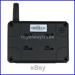 TPMS Tire Pressure LCD Monitor System Wireless 6-External Sensor Displayer