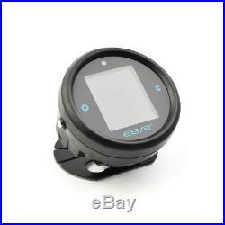 TPMS Tire Pressure Monitor EBAT ET-910AE Motorcycle 2Sensor Wireless LCD Display