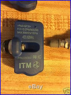 TPMS Tire Pressure Monitor Mercedes All Four Sensors 433.92MHz Tire sensor