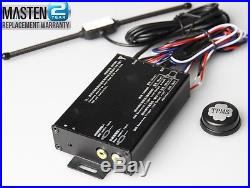 TPMS Tire Pressure Monitor System 4 External Cap22 Sensors DVD Video Car Module