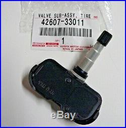 TPMS Toyota Tire Pressure Valve Genuine OEM Toyota 42607-33011
