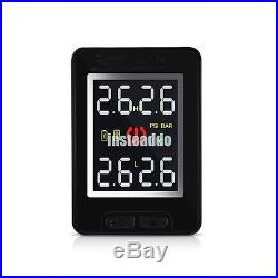 TPMS Wireless 4 Sensors Tire Pressure Monitoring System LCD Display for Toyota