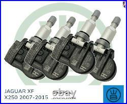 TPMS tyre pressure valve sensor genuine JAGUAR XF X250 alloy wheels 2007-2015