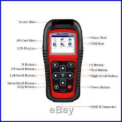 TS501 TPMS Scan Tool Code Reader ECU Reset Tire Pressure Sensor Activate Scanner