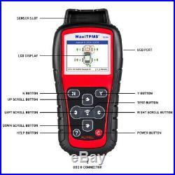 TS508K TPMS Service Diagnostic Reset Tool Program + Tire Pressure Monitor Sensor