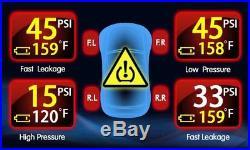 -Tire Pressure Monitor System TPMS 8 Internal Valve 22 Sensors DVD Video Car Set