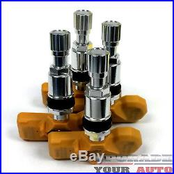 Tire Pressure Sensor Replacement (TPMS) Set of 4 For 2004-2009 Audi A8
