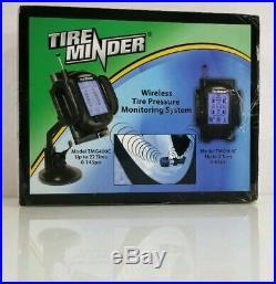 TireMinder TMG400C-4 Sensor Remote Tire Pressure Monitoring System TPMS RV Kit