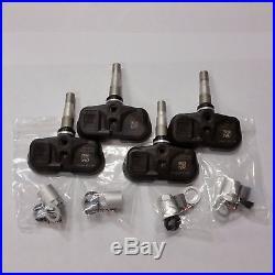 Toyota Lexus Used Tire Pressure Sensors Set Of 4 Oem 42607-06011 Tpms Pmv-107j