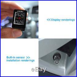 Toyota U912 NF+ TPMS Tire Pressure Monitor System+4 External Sensors LCD Display
