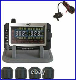 Truck Systems Technology TST 507 Tire Pressure Monitor Cap Sensors Color Display