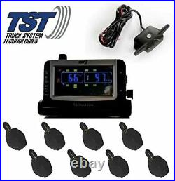 Truck Systems Technology TST 507 Tire Pressure Monitor with 8 Flow-Thru Sensors
