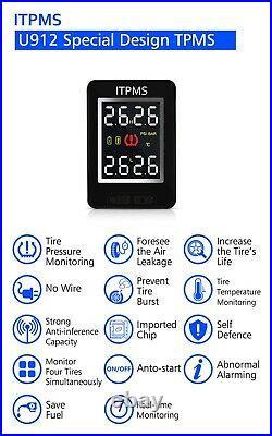 Tyre Pressure Monitor System For Toyota Landcruiser External Sensors TPMS 4WD