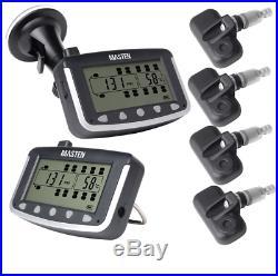 /Tyre Pressure Monitoring System Car Caravan Internal Sensors LCD 4WD Wireless