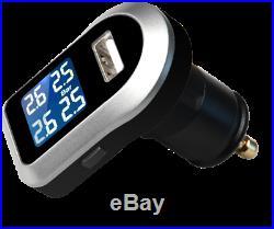 +Tyre Pressure Monitoring System LCD TPMS 4 External Sensors Wireless 4x4 Car