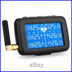 U901 TPMS Car Truck Tire Pressure Monitor System+6 Sensors+Mounting Bracket