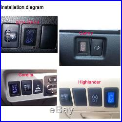 US SHIP For Toyota Wireless TPMS Tire Pressure Monitor+4 Sensors LCD Display