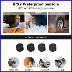 USB TPMS Android Tire Pressure Monitor System External Sensor for Car Navigation