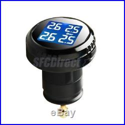 Universal Car Wireless TPMS Tire Pressure Monitor System+4 Internal Sensors