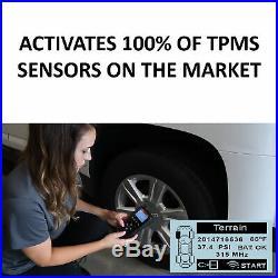 Universal TPMS Tool, Trigger, Programming & Reset Tool for Tire Pressure Sensors