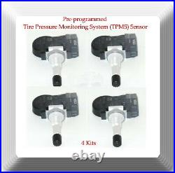 VDO 4 x Tire Pressure Monitoring System (TPMS) Sensor Fits Hyundai Kia 2010-2015
