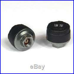 Wireless Car TPMS Tire Pressure 4 External Sensors & LCD Display Monitor