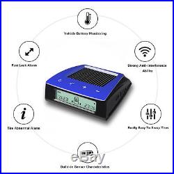 Wireless Carchet RV Solar Tire Pressure Monitor System TPMS+6 External Sensor