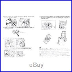 Wireless TPMS Tire Pressure Monitor LED Display Cigarette Lighter 4 Sensors