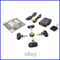 Wireless TPMS Tire Pressure Monitoring System with4 Built-in Sensor for DVD Player