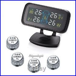 Wireless Tyre Wheel Pressure Monitoring System Monitor TPMS Tire Gauge Sensor
